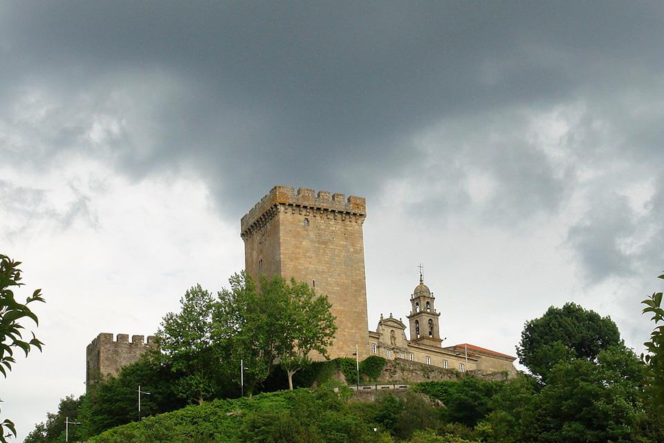 Monforte de Lemos - Torre del Homenaje - Lucha de Conquista en la Revuelta Irmandiña